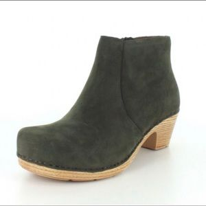 DANSKO Maria Milled Nubuck Leather Ankle Boots